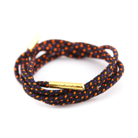 Dress Laces // Outback Sunset (Gold Tips)