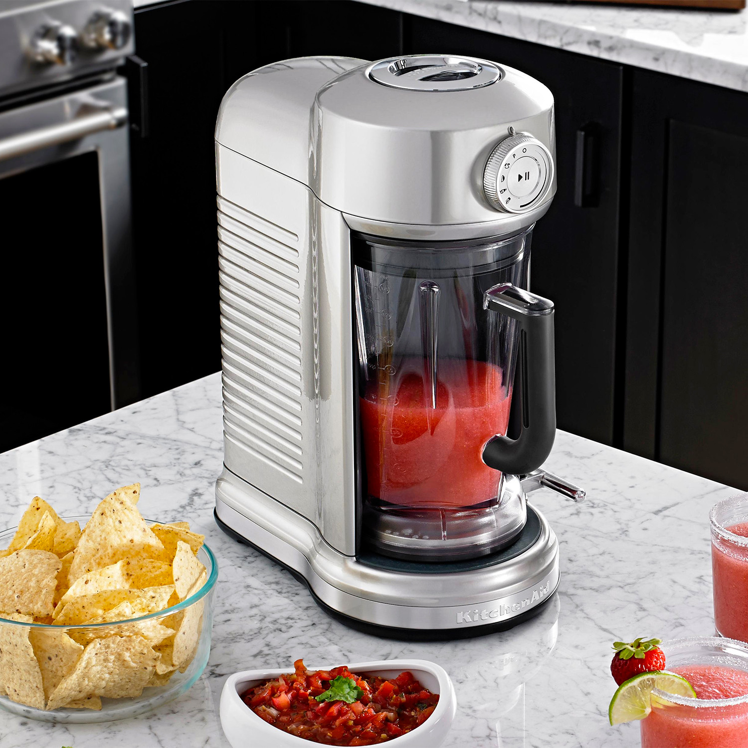 Torrent Magnetic Drive Blender (Candy Apple Red) - KitchenAid ...