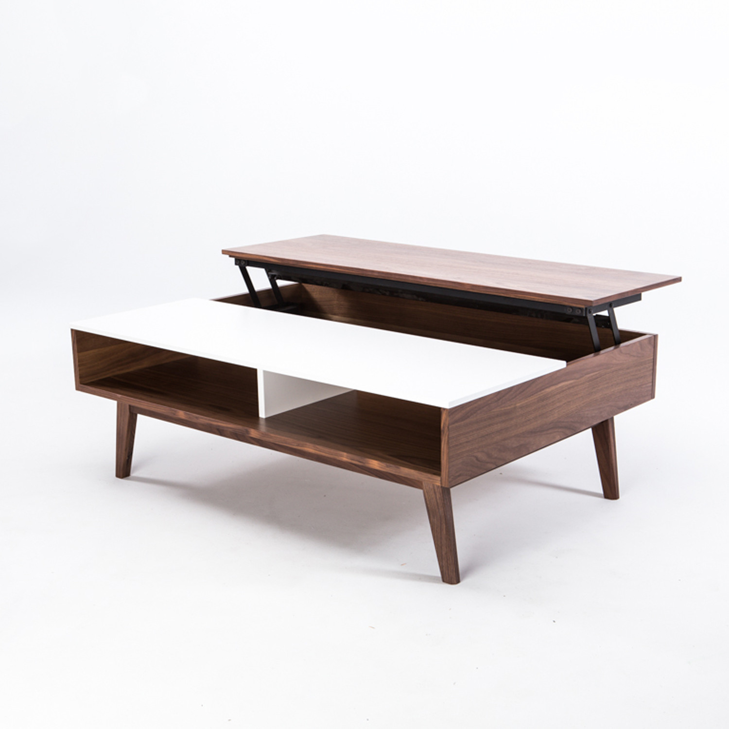 Walnut Lifting Coffee Table Furniture Maison Touch Of Modern
