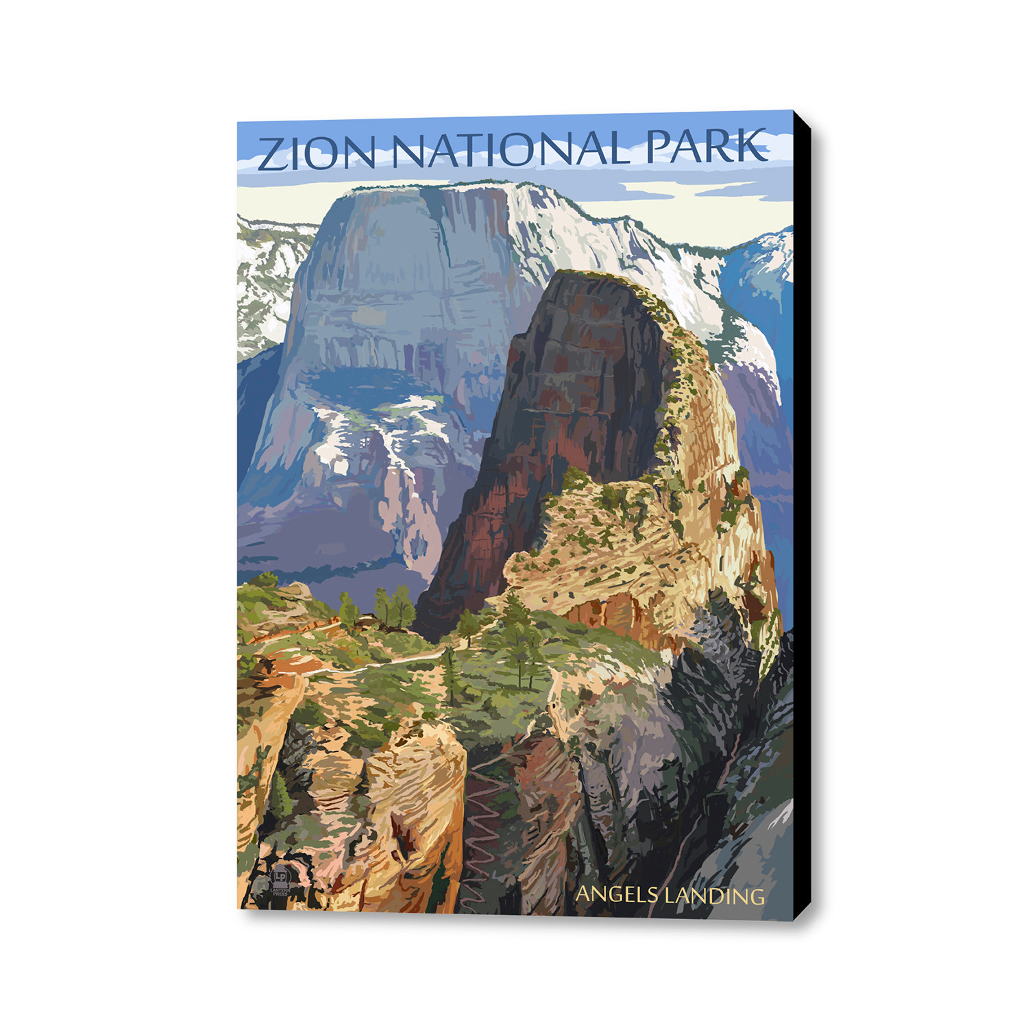 Places To Live Near Zion National Park: Zion National Park // Angels Landing