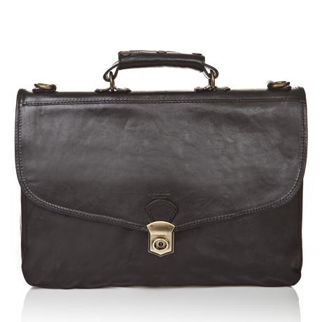 Medici Of Florence // Office Bag 4000 // Black