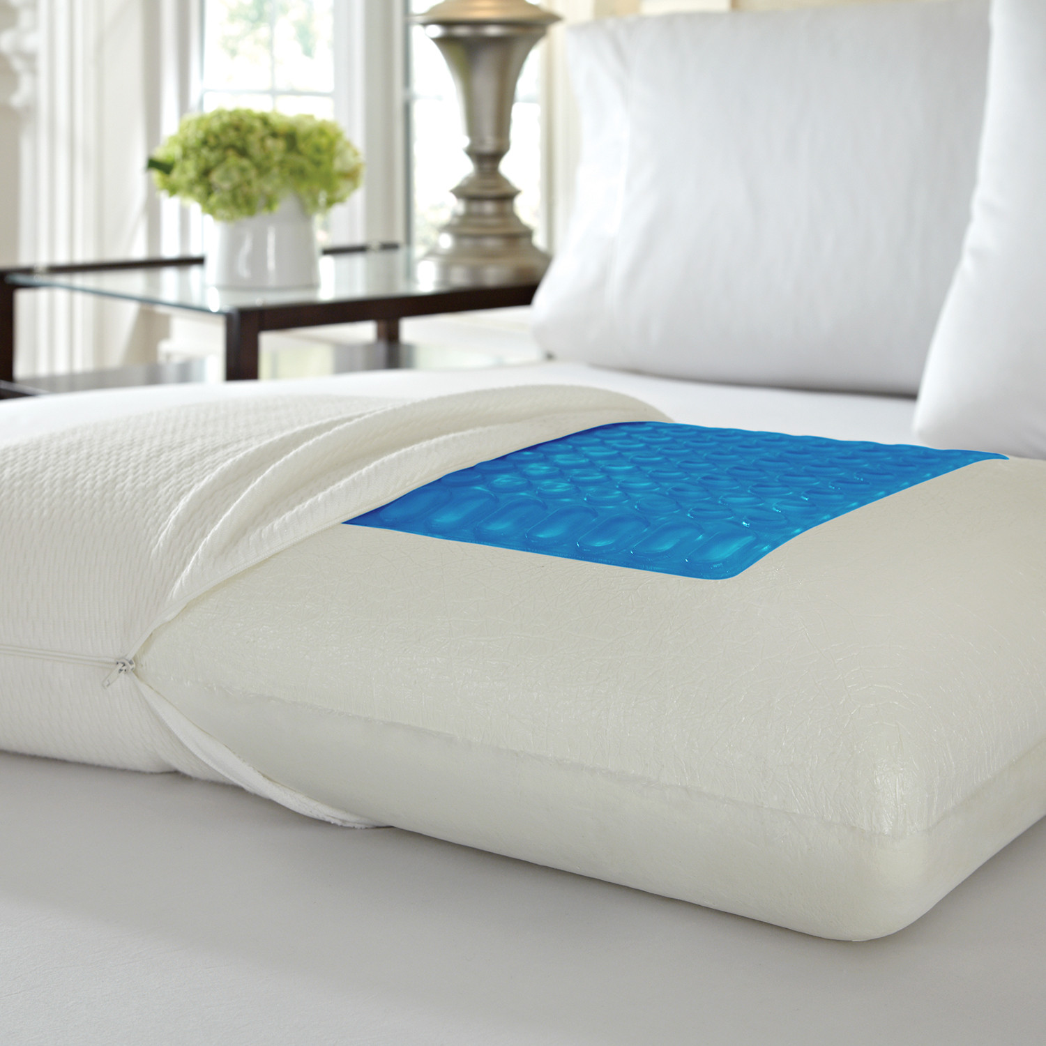 Pure Rest Gel Top Memory Foam Pillow Gel Top - Pure Rest by Rio Home Fashions - Touch of Modern