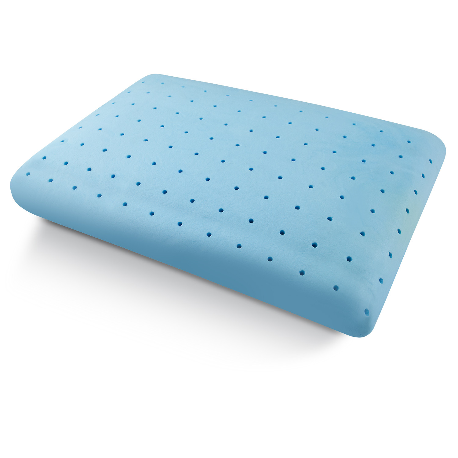 Tempure Rest Cool Comfort Ventilated Memory Foam Gel Pillow - Pure Rest by Rio Home Fashions ...