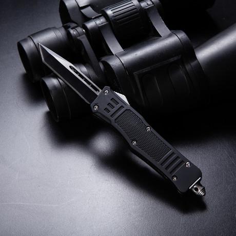 Mini Raven OTF Tactical Knife // Non Serrated