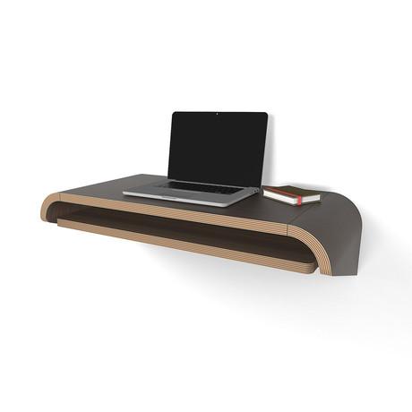Minimal Wall Desk // Walnut (Small)