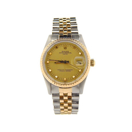 Two-Tone Date Automatic 15.053 // // // 7511391N c.1980's