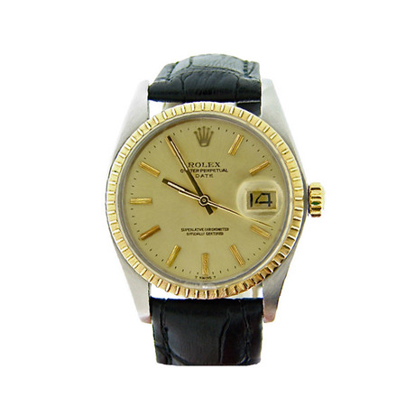 Two-Tone Date Automatic // 1505 // 5845812 // c.1960's