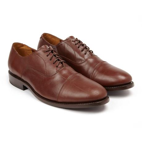 John Doe Shoes // Bonucci Leather Oxford // Brandy Calf