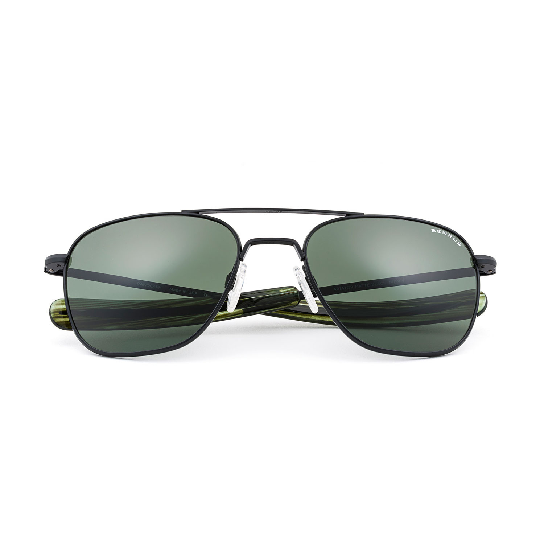 5be2ead3e Aviator Sunglasses // Matte Black (58mm) - Benrus - Touch of Modern