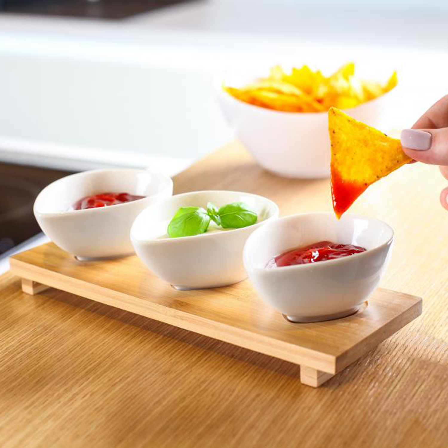 vilagio  serving dishes  set of   vialli  touch of modern -