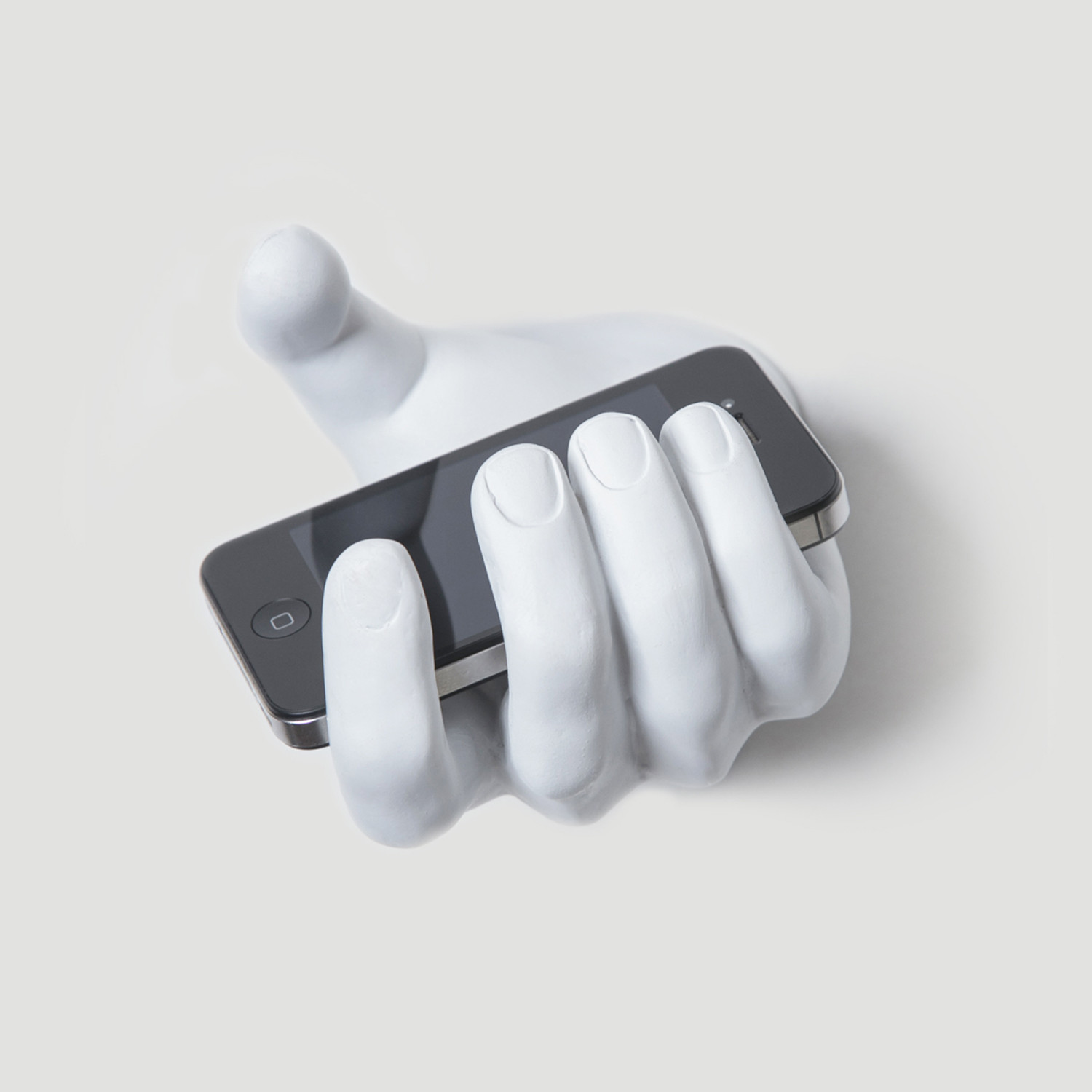 grabbing hand wall hook interior illusions plus touch of modern