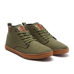 Leon Sneaker // Olive (US: 7.5)