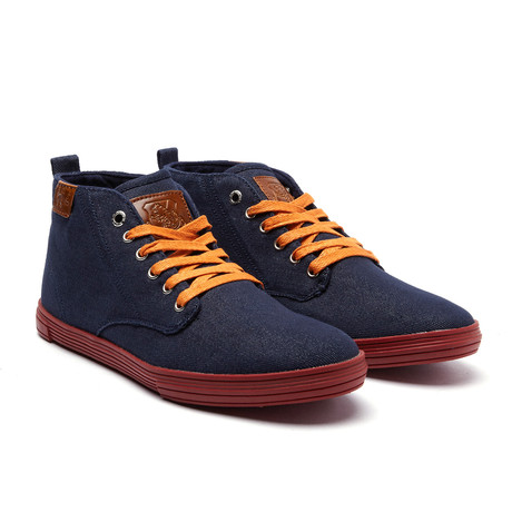 Leon Sneaker // Navy Denim (US: 7)