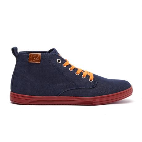 Leon Sneaker // Navy + Denim (US: 7)