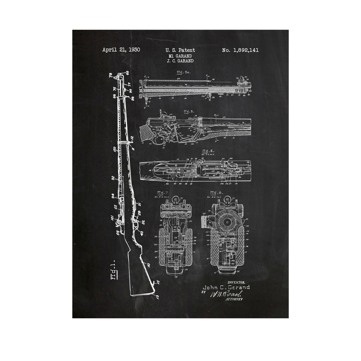 Blue Garand Diagram Great Installation Of Wiring Pin Mosin Nagant On Pinterest M1 Grid White Ink Inked Screened Touch Modern Rh Touchofmodern Com