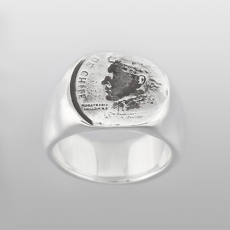 Rome // Sterling Silver (Size 8)