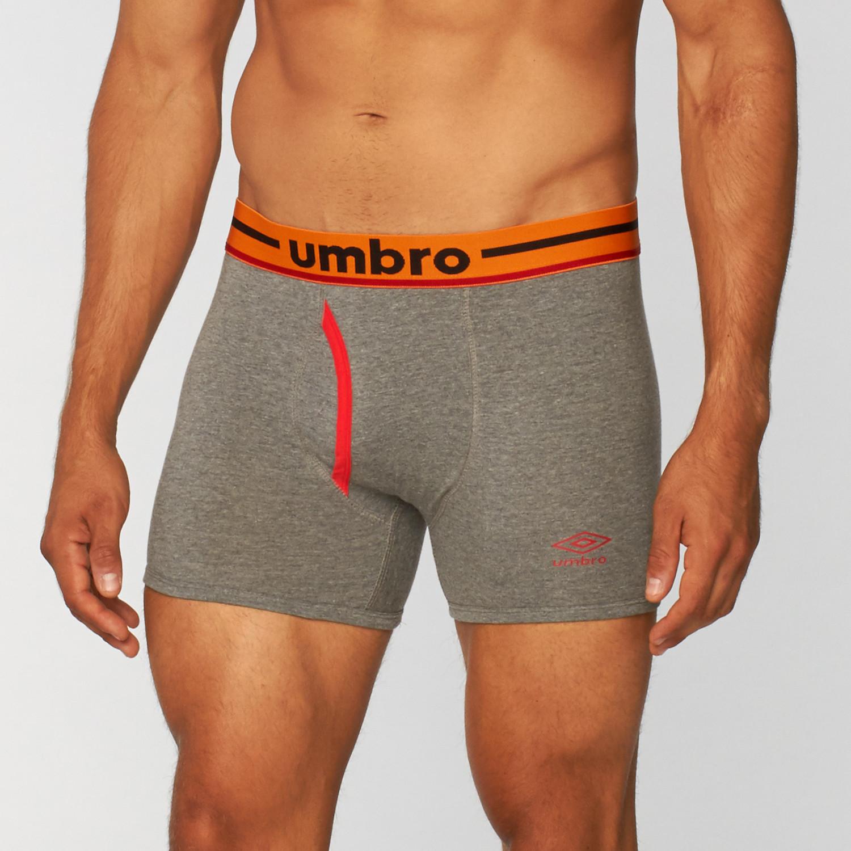 Basic Boxer Briefs // Neutral + Orange // Pack of 3 (S ...