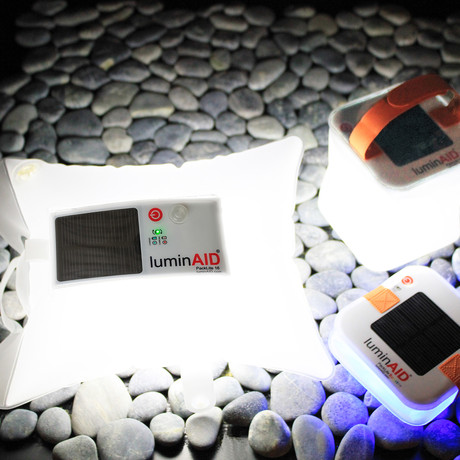 LuminAID // Pack Line Solar Light Bundle
