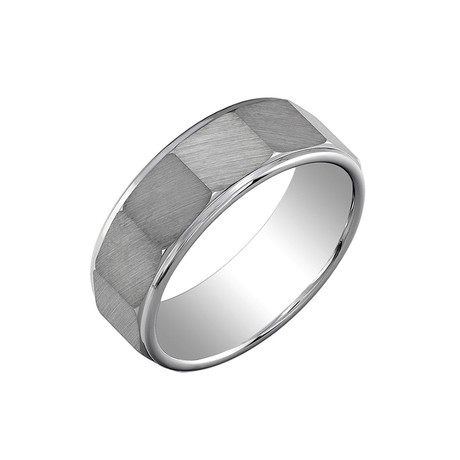 Tungsten Brushed Metal Band (Size 7)