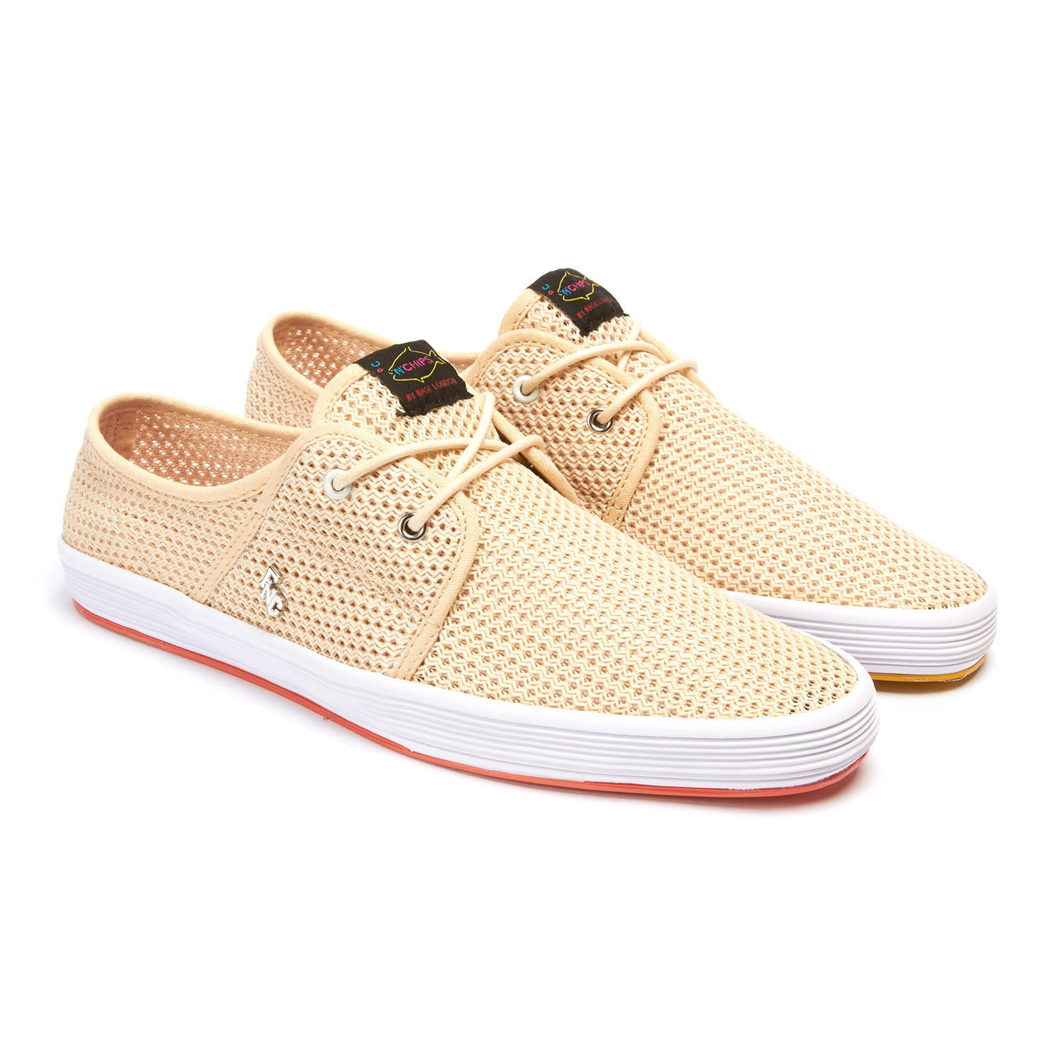 Spam 2 sneaker natural euro 40 fish n chips for Fish n chips shoes
