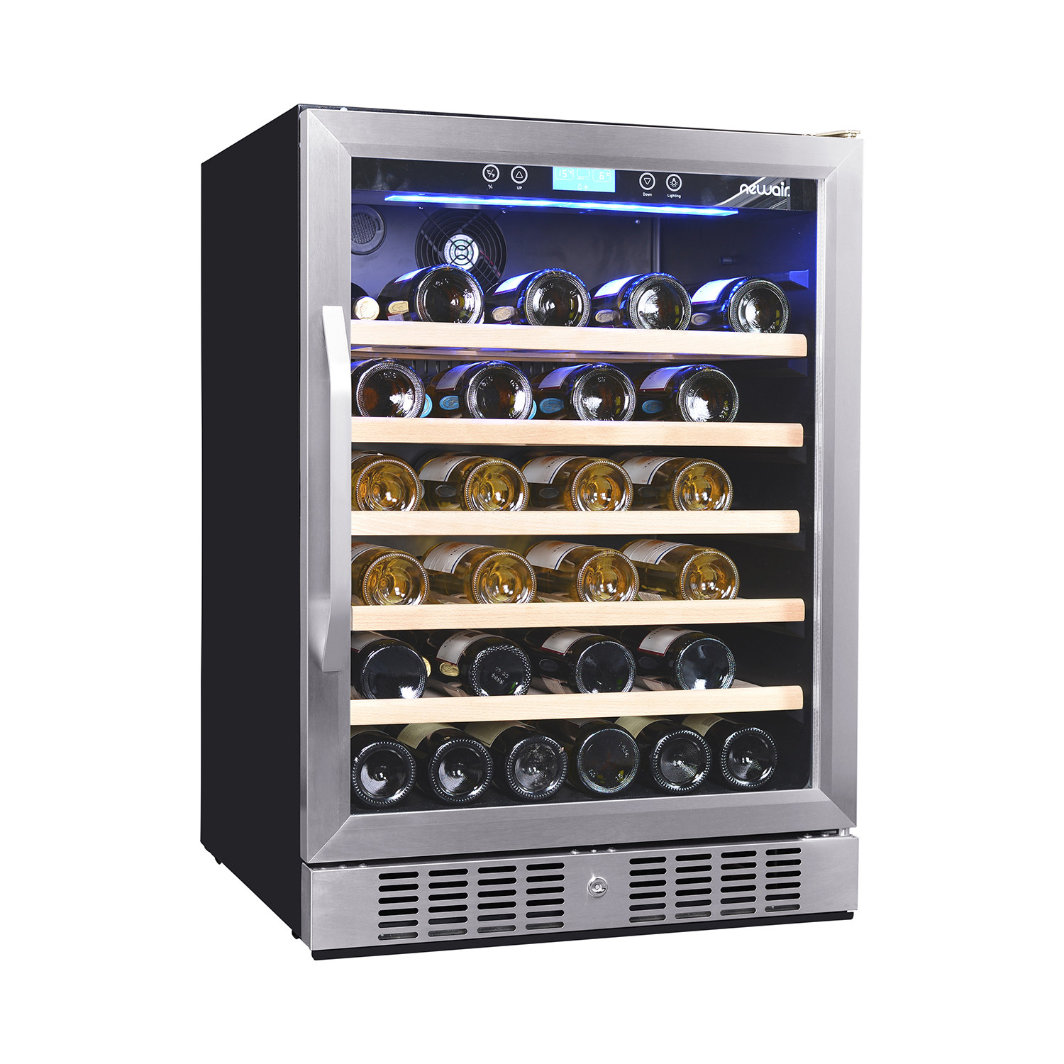 52 bottle wine cooler luma comfort touch of modern for Modern homes 8 bottle wine cooler