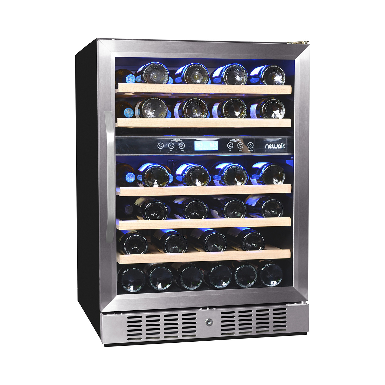 46 bottle dual zone wine cooler - Dual Zone Wine Cooler