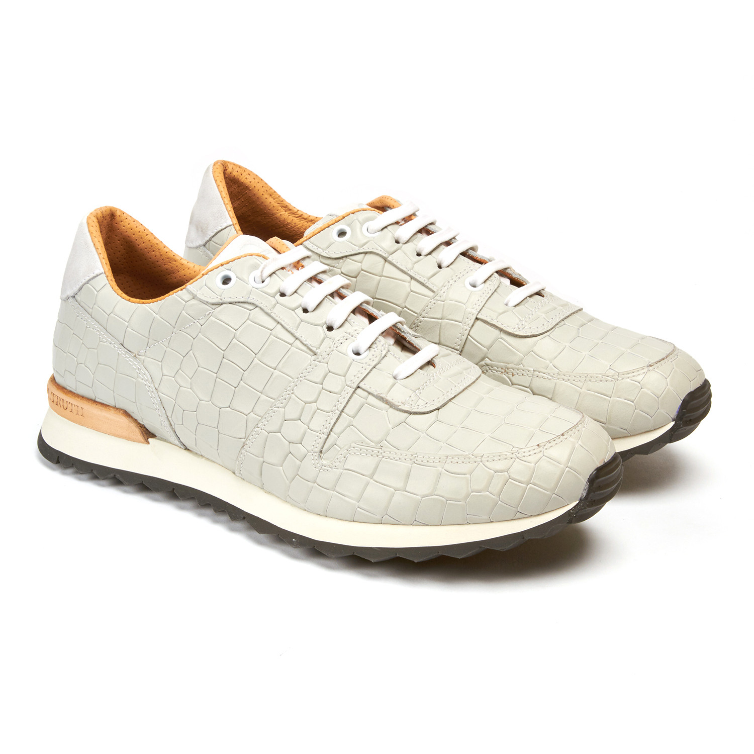 0f06cae2e7a13 Amazon // White Croc Print (US: 8) - Robert Graham Shoes - Touch of ...