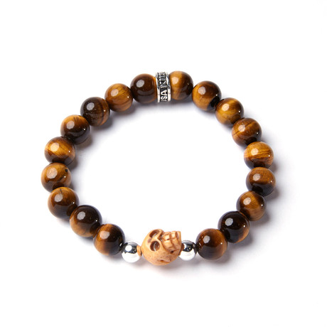 10mm brown tiger eye bracelet king baby touch of modern for King baby jewelry sale
