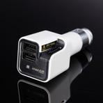 Air Ionic Car Air Purifier + Dual USB Car Charger