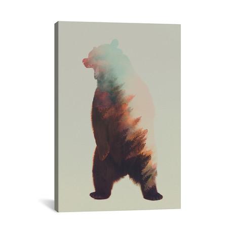 "Roaring Bear (26""W x 18""H x 0.75""D)"