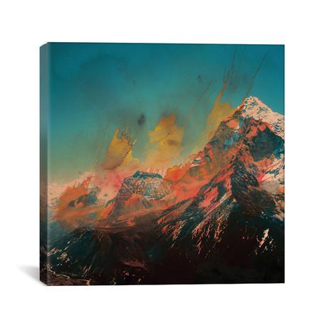 "Mountain Splash // Andreas Lie (18""W x 18""H x 0.75""D)"