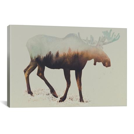 """Elk I (26""""W x 18""""H x 0.75""""D)"""