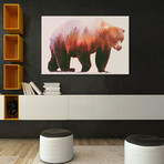 "Brown Bear (26""W x 18""H x 0.75""D)"