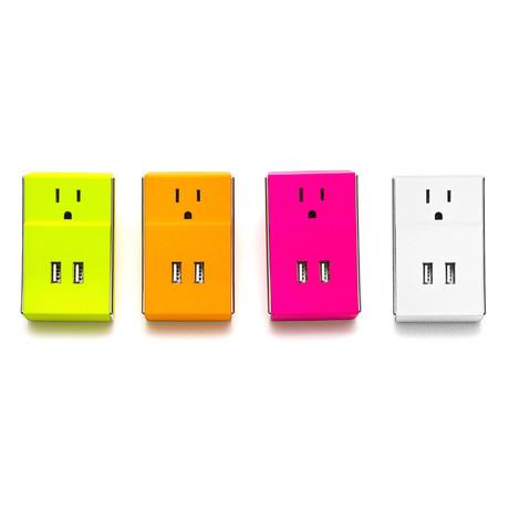 WALLY Dual USB Wall Charger
