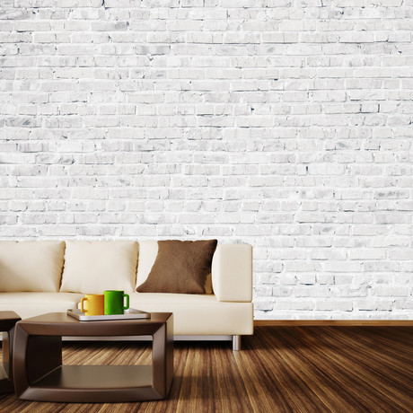 White Washed Brick 4 Panels 93 Width Walls Need
