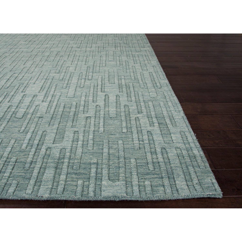 Urban Mineral Blue Wool Rug (3u0027L X ...