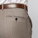 Pierre Balmain // Wool Two-Piece Suit // Light Grey Pinstripe (Euro: 50)