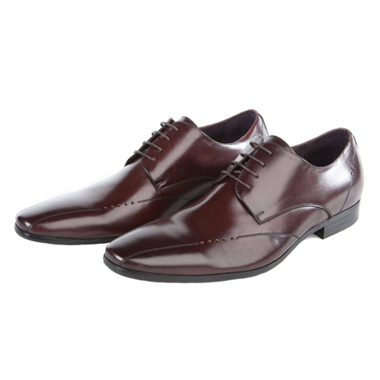 Emerson Calf Leather Derby Brown Euro 42 John White Shoes Medium New Ed66d43fe22e797a1ee14ded238e926b