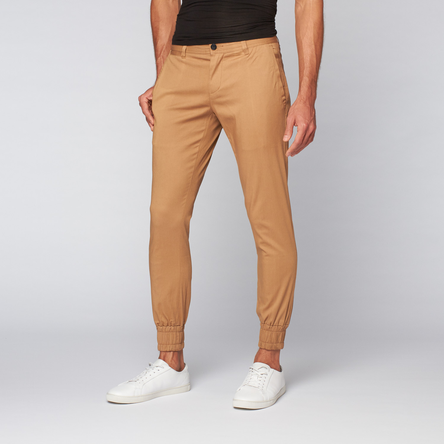 bottom price top-rated authentic big discount of 2019 Jordan Slim Lightweight Stretch Twill Jogger // Khaki ...