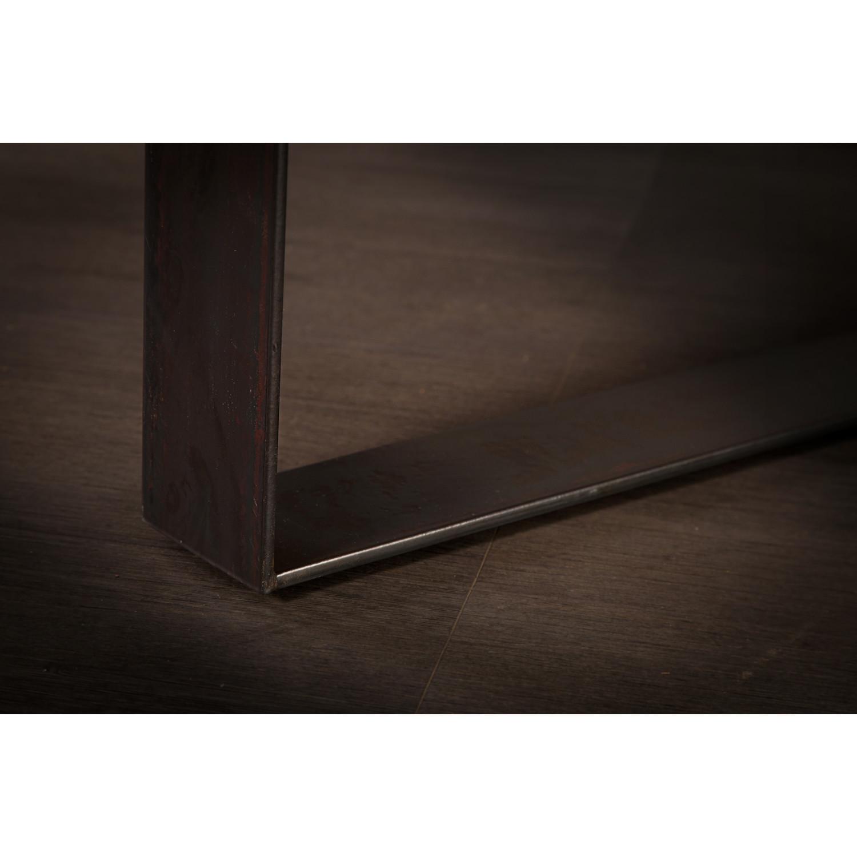 Suar Wood Table // Metal Legs // Natural (96