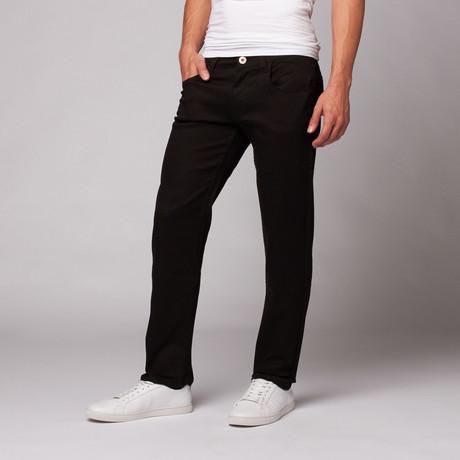 Waarheid Stof // Skinny Stretch Twill Pant // Black