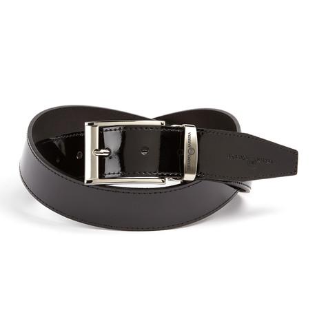 Patent Leather Belt // Black
