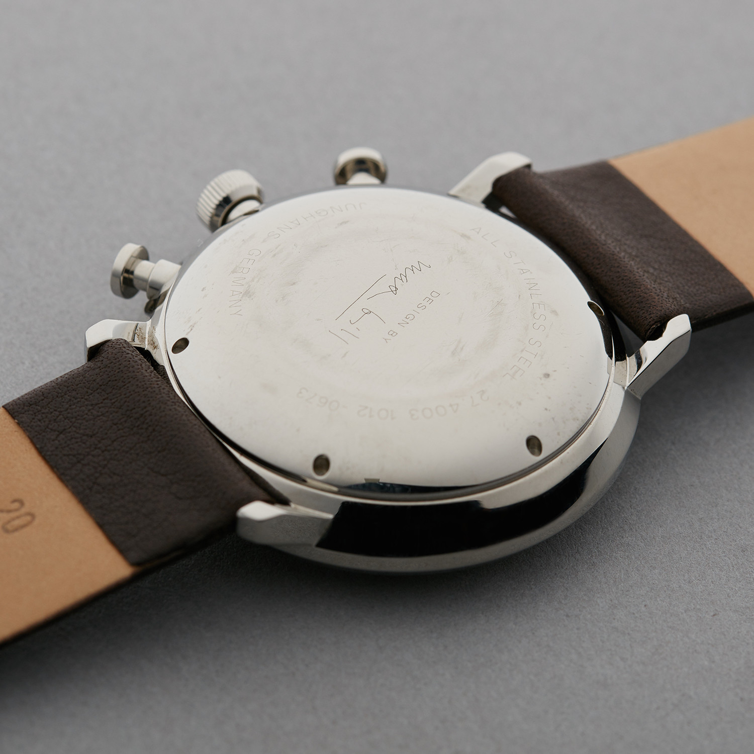 junghans max bill chronoscope 027 pre owned dream watches touch of modern. Black Bedroom Furniture Sets. Home Design Ideas
