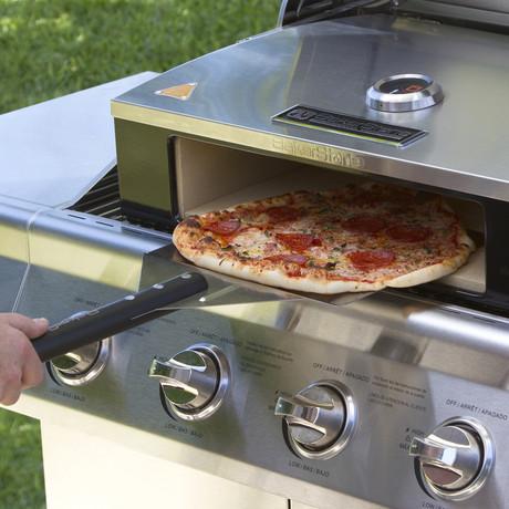 bakerstone professional series pizza oven kit bakerstone. Black Bedroom Furniture Sets. Home Design Ideas