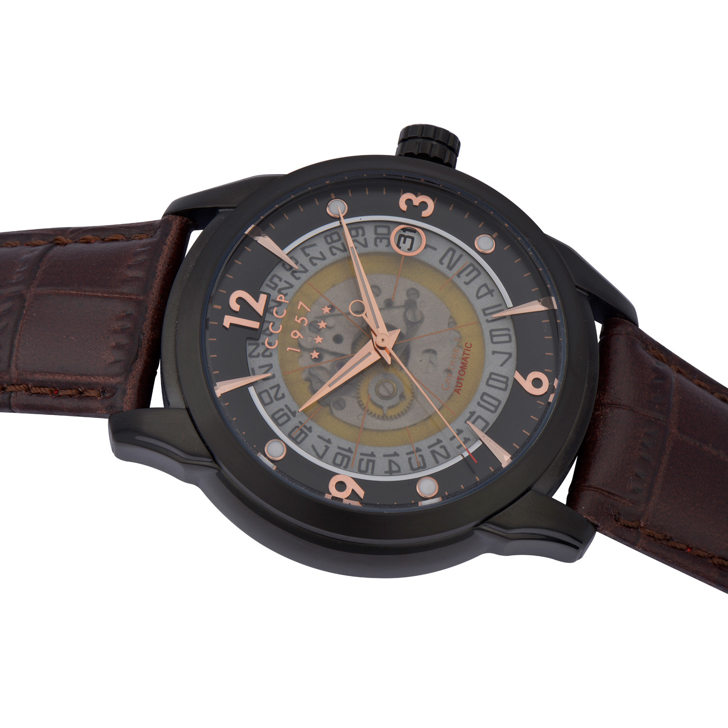 Cccp Sputnik 1 Automatic Cp 7001 06 Cccp Watches Touch Of Modern