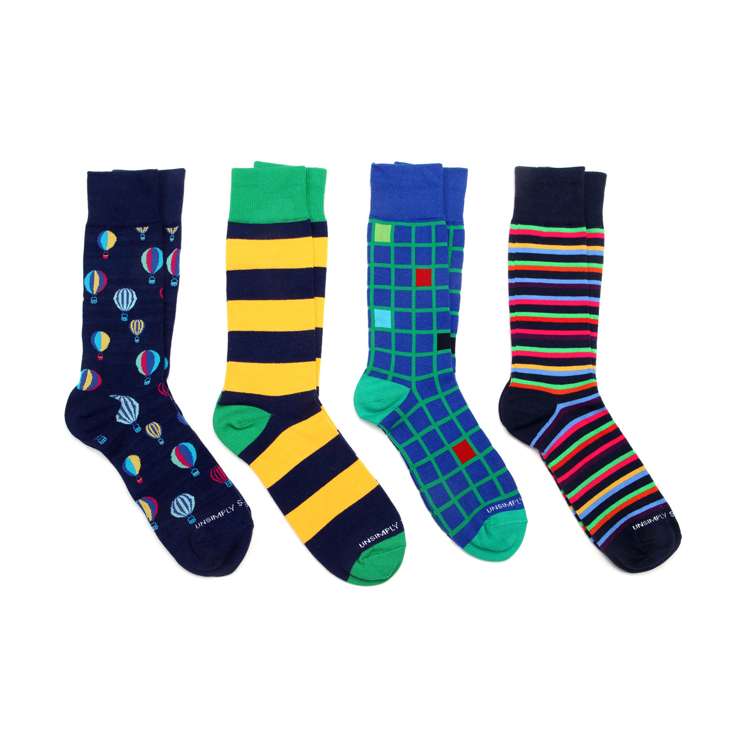 Dress socks balloons ii pack of 4 unsimply stitched touch of