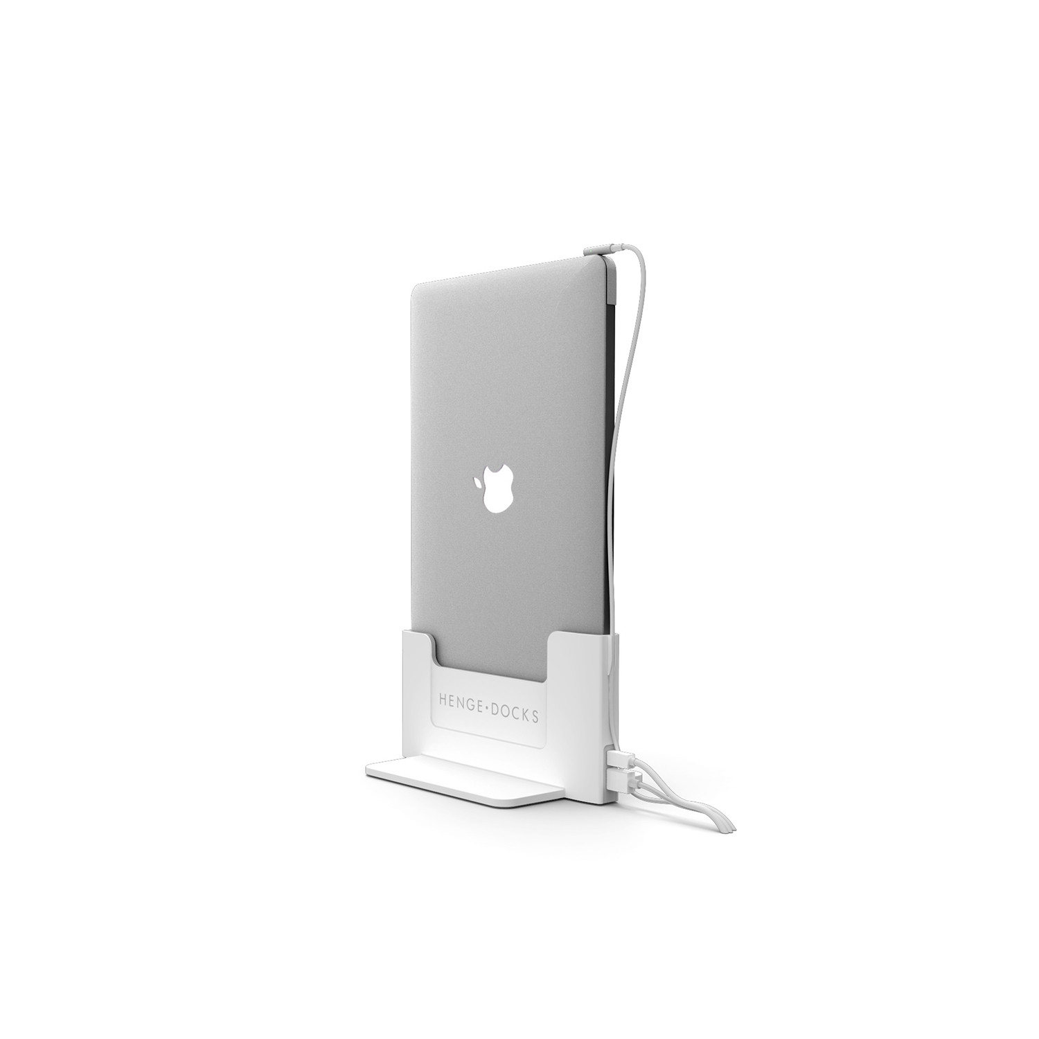 vertical docking station 11 macbook air henge docks. Black Bedroom Furniture Sets. Home Design Ideas