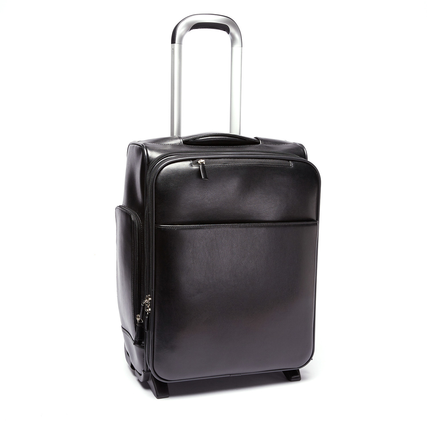 Joseph Daniel // Leather Carry-On Suitcase // Black - Tanners ...