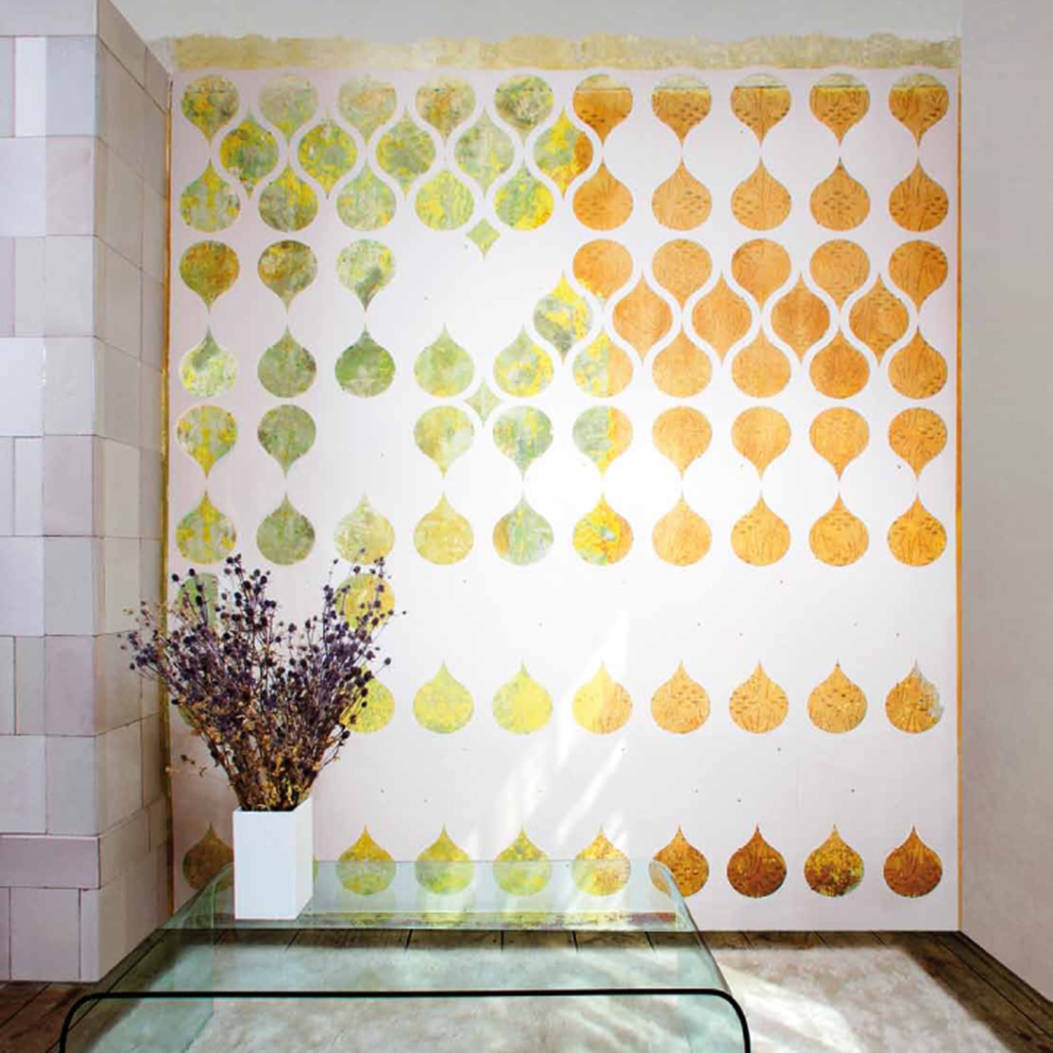 Tear away wallpaper 6 sheets white movisi touch for Wallpaper sheets
