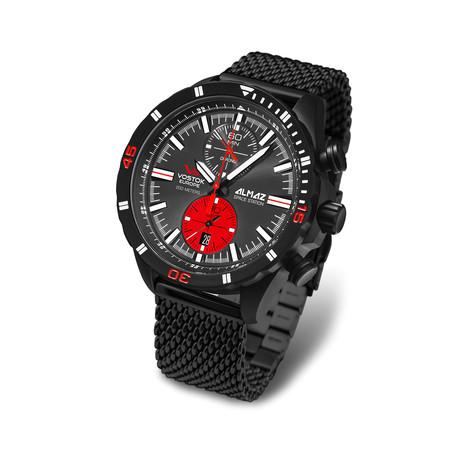 Almaz Mesh Bracelet Chronograph Watch Quartz // 6S11/320C260